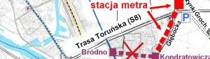 Białołęka chce zamienić tramwaj na metro