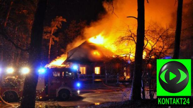Akcja straży pożarnej nadarzyn.tv/ Kontakt24
