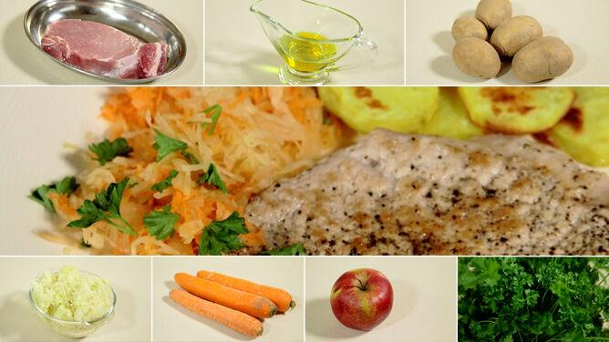 Typowy polski obiad w wersji light