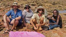 Steve Salisbury, Louise Middleton, Damien Hirsch , Richard Hunter (University of Queensland)