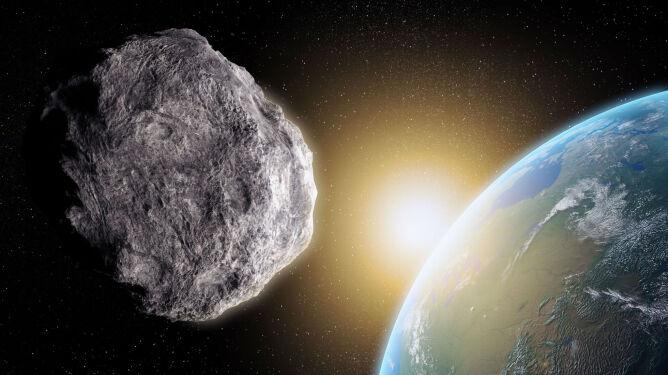 Ogromna asteroida przeleciała obok Ziemi. <br />Kolizja byłaby katastrofalna w skutkach