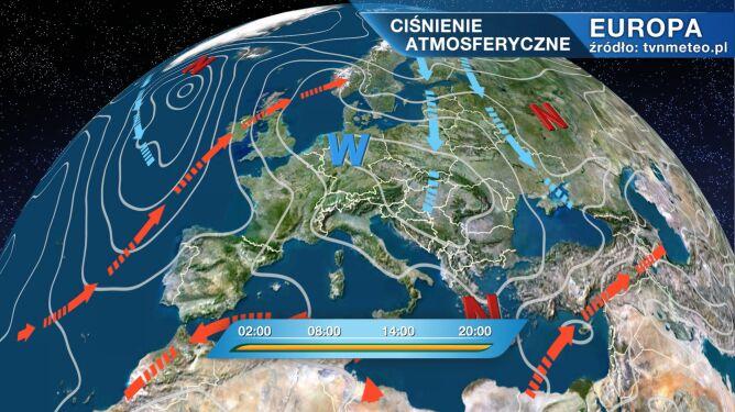 Wyż Hanneke wpłynie na pogodę w Polsce