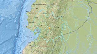 Uszkodzone budynki, osuwiska. W Ekwadorze zatrzęsła się ziemia
