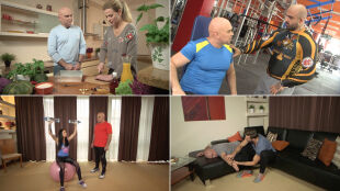 40-latek ćwiczy, ale źle. Na pomoc ruszają Akop i Sylwia Szostakowie