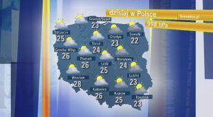 Agnieszka Cegielska o pogodzie w niedzielę