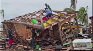 Zniszczenia w Nikaragui