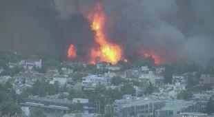 W Grecji wybuchają kolejne pożary