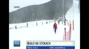 Warunki narciarskie w Zakopanem 21 grudnia (TVN24)